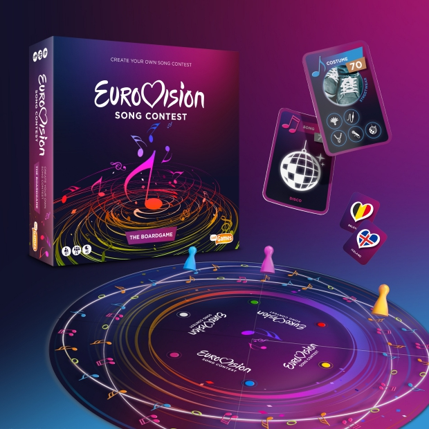 Eurovision Song Contest bordspel go with the vlo