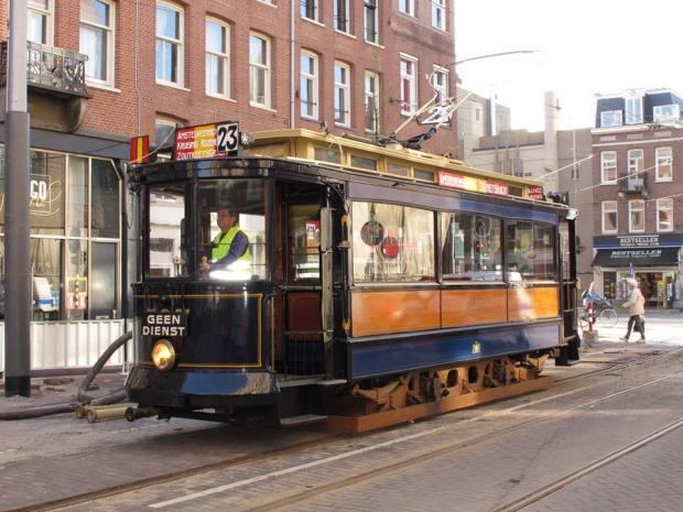 Historische trams loods sloop go with the vlo