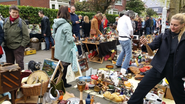 Vrijmarkt Apollolaan Amsterdam 2018 go with the vlo
