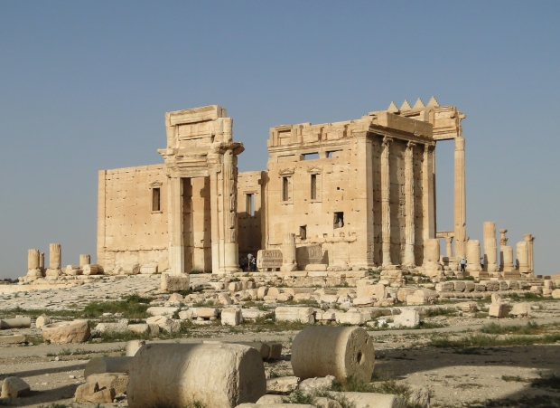 Syrië Palmyra go with the vlo
