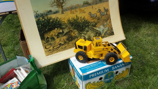 Rommelmarkt Schiedam leeuwenprent