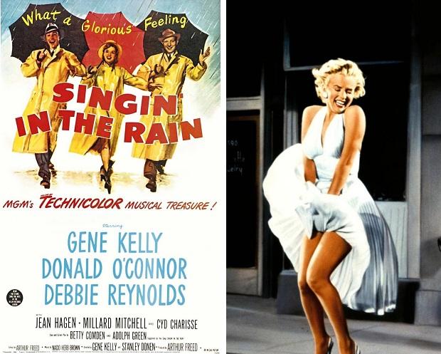 Marilyn Monroe veiling Debbie Reynolds