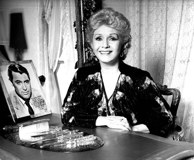 Debbie Reynolds veiling