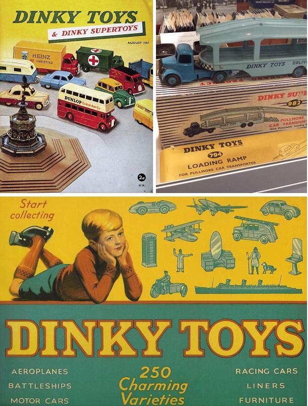 Dinky Toys vrachtwagen bij Kringloop Het Goed in Schiedam