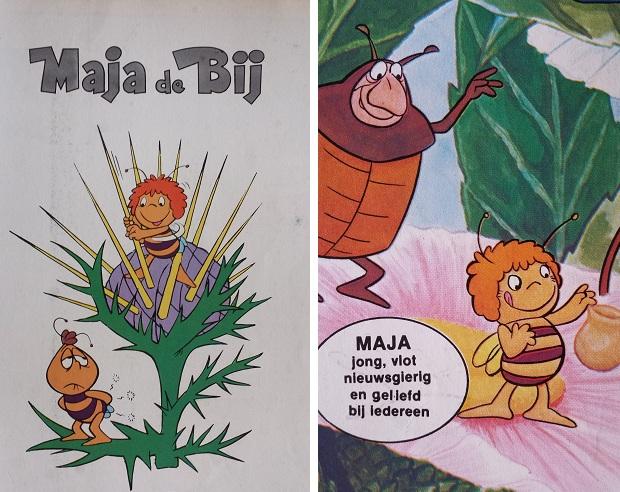 Maja de Bij comic