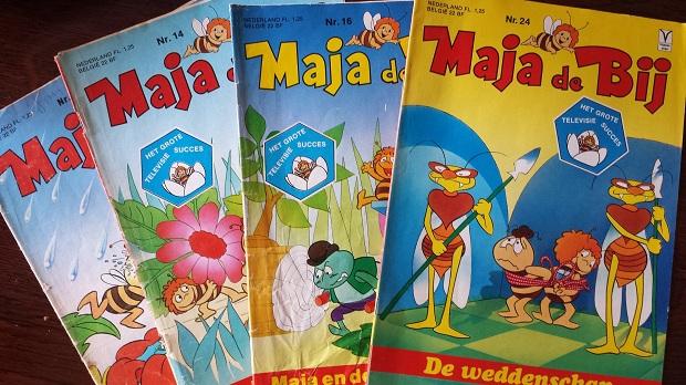 Maja de Bij comics
