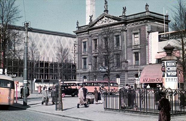 Rotterdam Coolsingel kleurenfoto