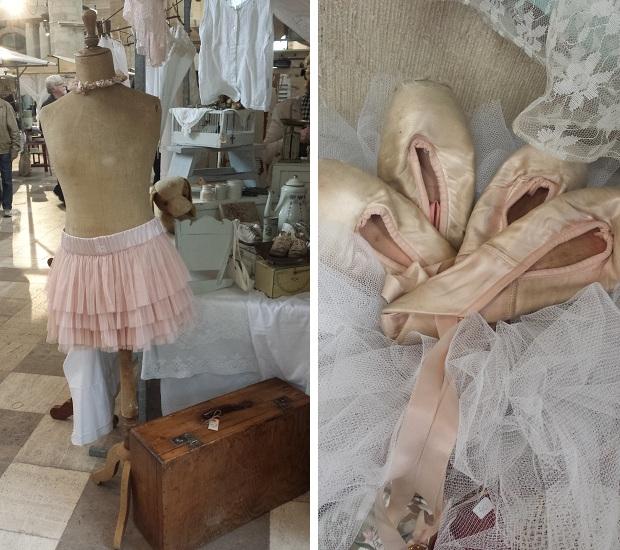 Rotterdam brocantemarkt Laurenskerk ballerina's