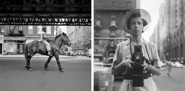 Vivian Maier paard New York 3