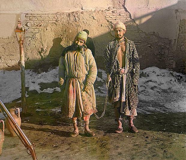 sergei mikhailovich prokudin gorskii kleurenfoto boeien