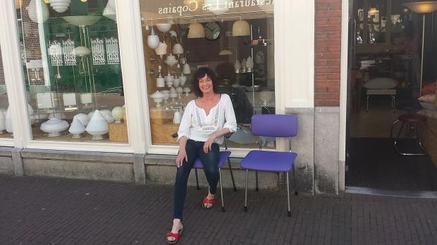 Art Deco Style & Light Delft eigenaresse
