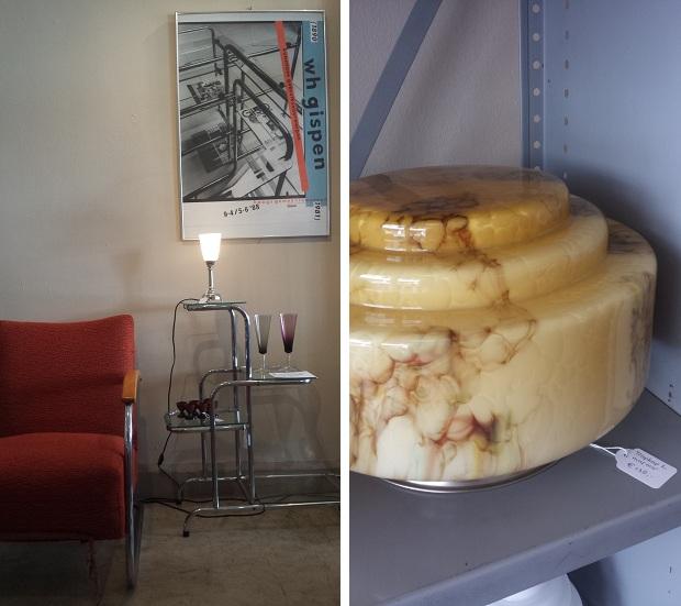 Art Deco Style & Light Gispen stoel Delft