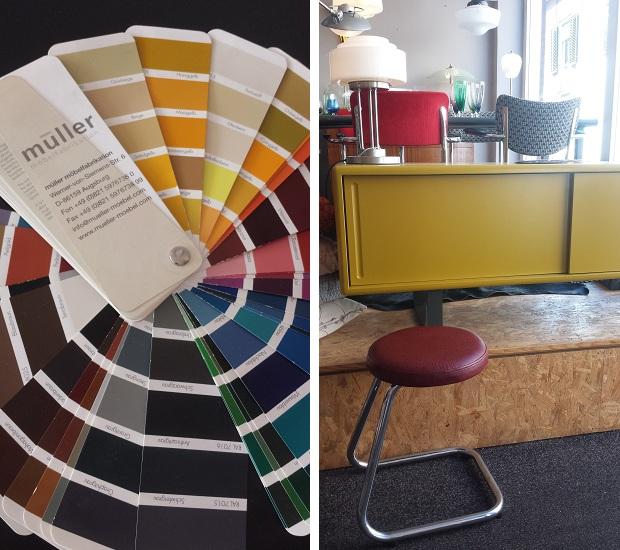 Art Deco Style & Light in Delft Muller meubels kleurkaart