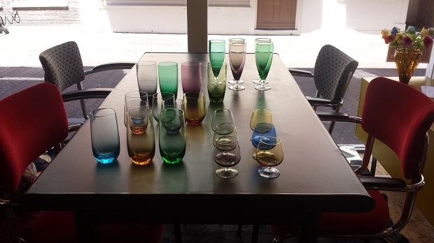 Art Deco Style & Light in Delft glaasjes