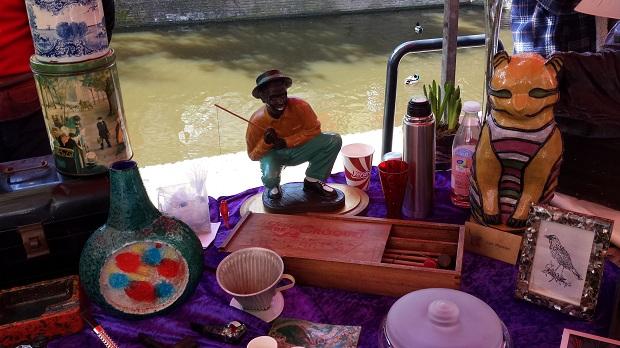 Delft antiek en curiosamarkt visser