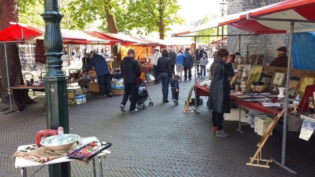 rommelmarkt delft zaterdag