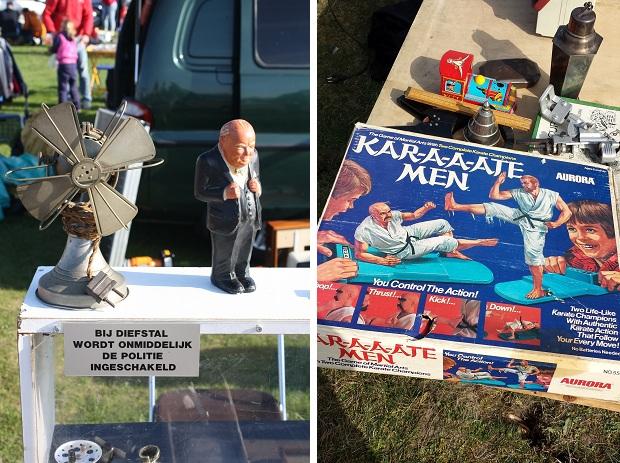 Hoek van Holland kofferbakmarkt diefstal karate