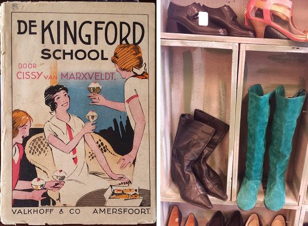 Kringloopwinkel Delft laarzen Cissy van Marxveldt