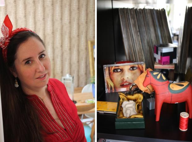 Binnenkijker Marjo de Bruin paardje Brigitte Bardot