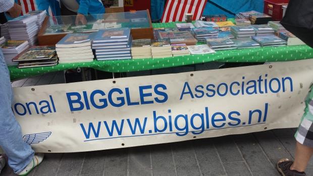 Boekenmarkt Dordrecht Biggles association