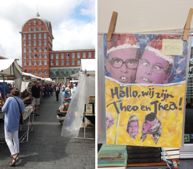 Boekenmarkt Dordrecht Theo en Thea