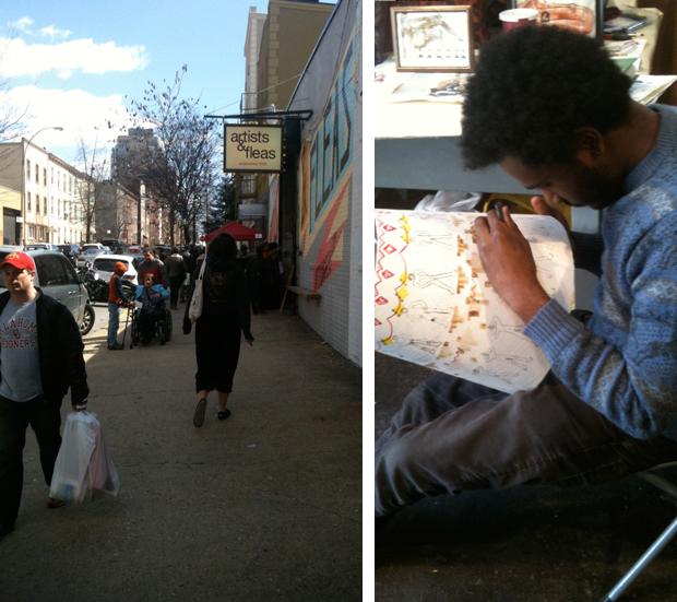Brooklyn-Flea-artists-&-fleas