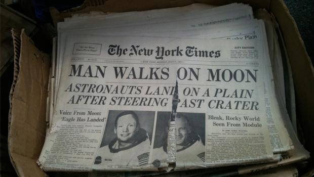 Brooklyn-Flea-krant
