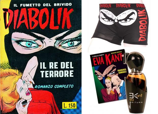 Diabolik merchandise go with the vlo