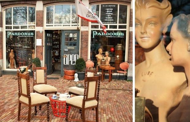 Dordrecht antiekwinkels