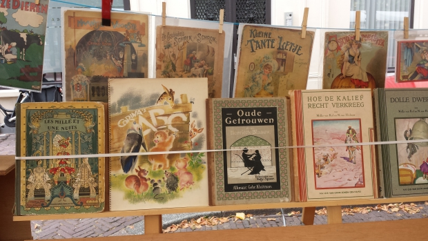 Dordrecht boekenmarkt oude kinderboeken