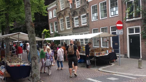 Dordtse boekenmarkt straat