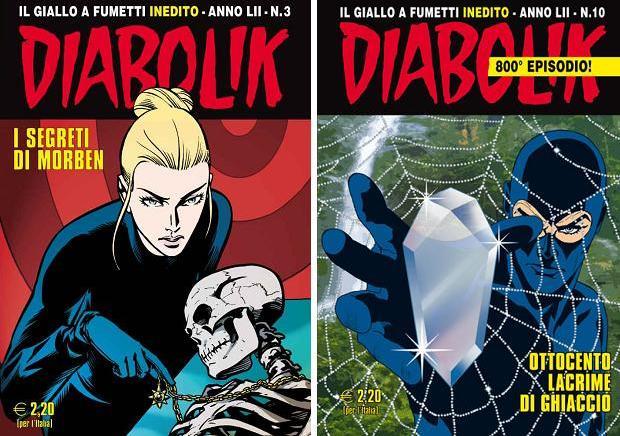 Stripheld Diabolik editie 800 go with the vlo