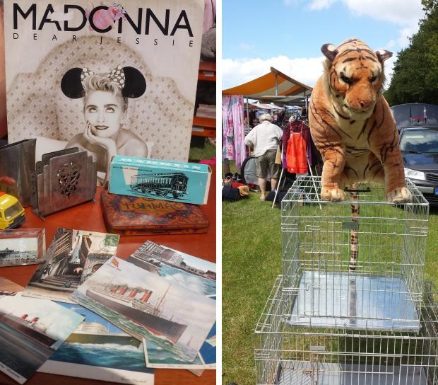 Zierikzee rommelmarkt Madonna tijger