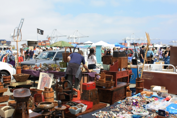Alameda Antiques Point Faire overzicht