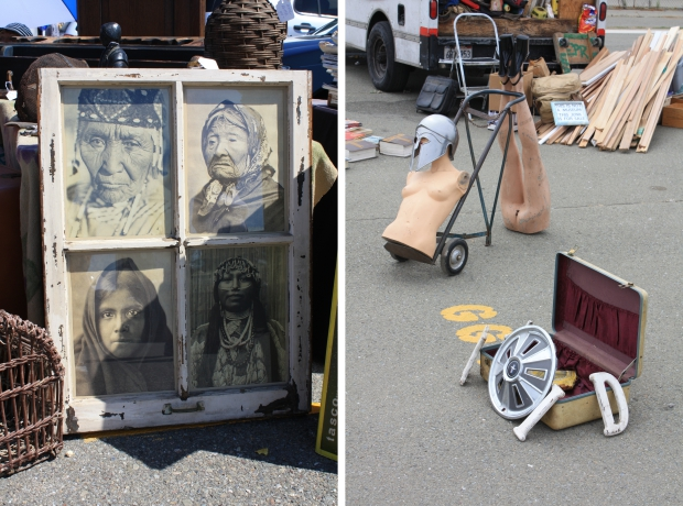 Alameda Point Antiques Faire Indianen