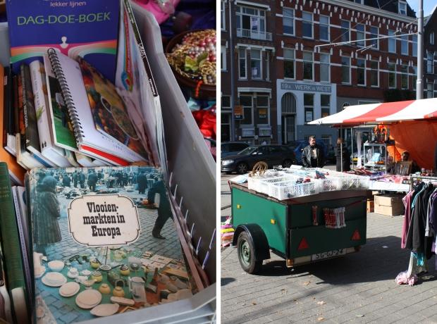 Heemraadsplein Rotterdam rommelmarkt boeken