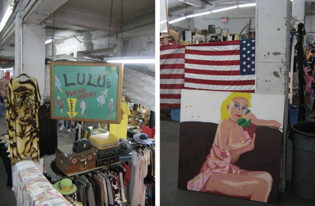 New York Antiques Garage Lulu's vintage