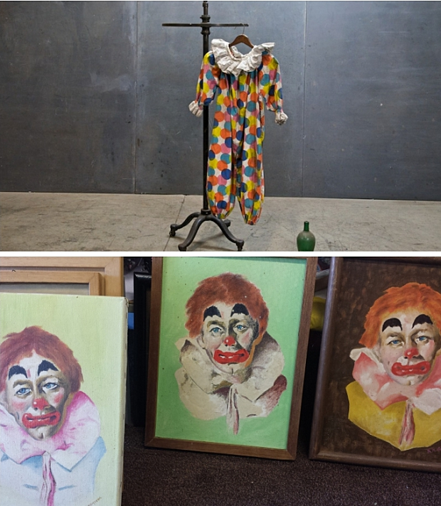 collage clowns kringloop Schiedam
