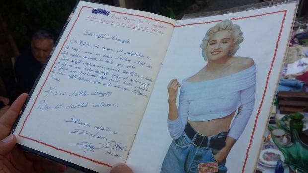 Ayvalik Madonna boekje