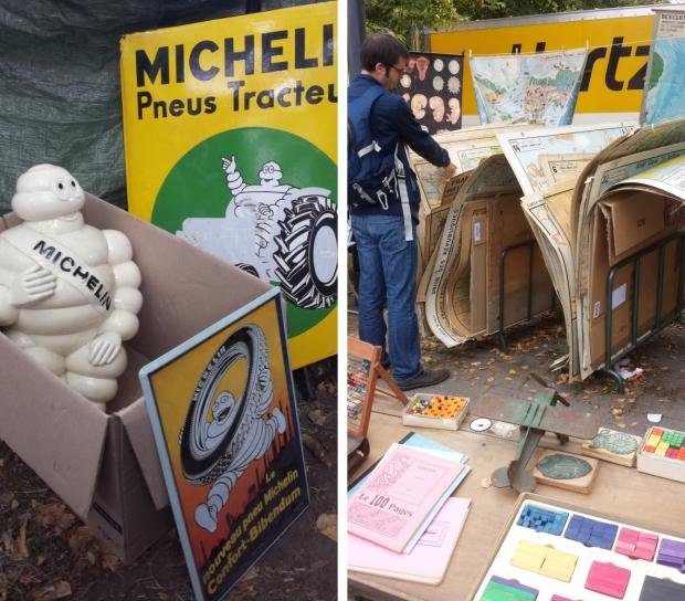 Braderie de Lille Michelin popje