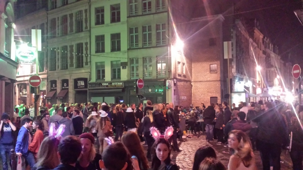 Braderie de Lille by night