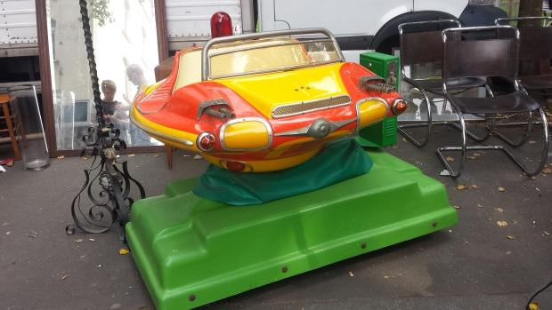 Braderie de Lille kermisauto