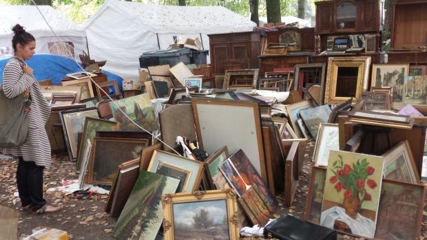 Braderie de Lille schilderijen