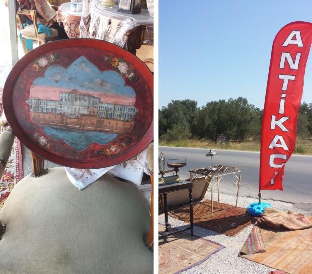 Cunda antiekwinkel Turkije