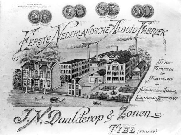 Daalderop fabriek Tiel