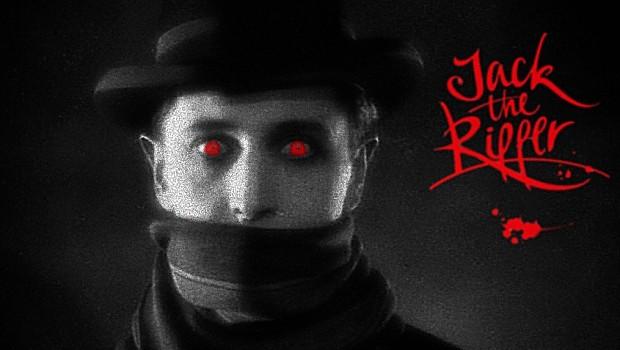 Jack the Ripper creepy ogen bloedrood