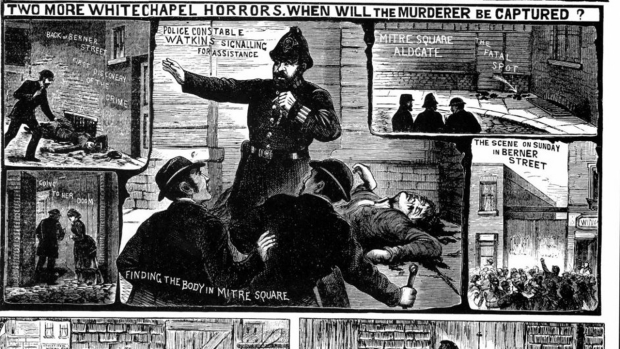 Jack the Ripper kranten