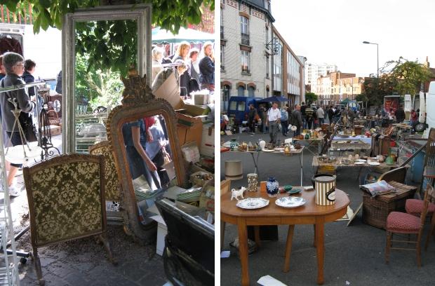 Lille rommelmarkt straat