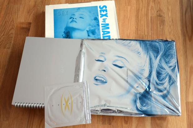Madonna Sex boeken