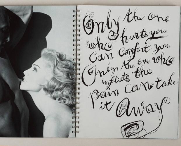 Madonna tepel boek